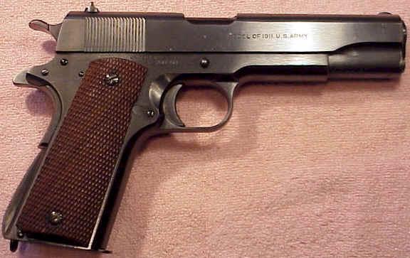 1924 Colt Transistion M1911